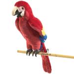 plyšový Papoušek Ara, plyšová hračka