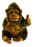 plyšová Menší gorila