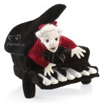 maňásek Maňásek Mozart v klavíru