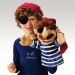 plyšový Jednooký pirát Jack