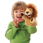 plyšový Lvíček na ruku, plyšová hračka