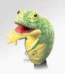 plyšová Maňásek žába