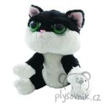 plyšová Černobílá kočka Domino, plyšová hračka