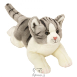 plyšová Mourovatá kočka