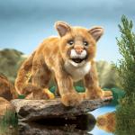 plyšová Puma americká