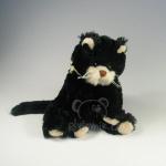 plyšová Černá kočka Bambo