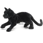 plyšová Černá kočka