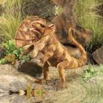 plyšový Agama
