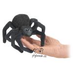 plyšový Pavouk na prst