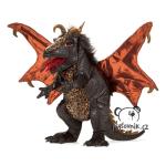 plyšový Černý drak, plyšová hračka
