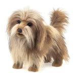 plyšový Chlupatý pes, plyšová hračka