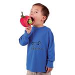 plyšový Červík v jablku, plyšová hračka