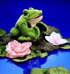 plyšová Žába