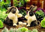 plyšový Holanský zakrslý králík, plyšová hračka