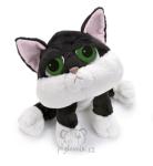 plyšová Černobílá kočka Loki