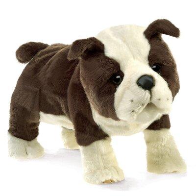Plyšová hračka: Anglický buldok štěně plyšový | Folkmanis