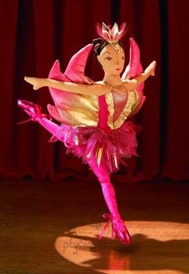Plyšová hračka: Baletka plyšová   Folkmanis