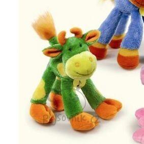 Plyšová hračka: Barevná kravička Dlouhonožka plyšová | Russ Berrie