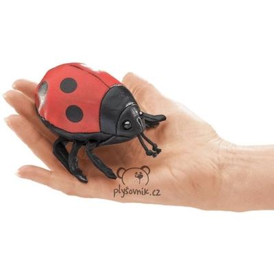 Plyšová hračka: Beruška na prst maňásek | Folkmanis