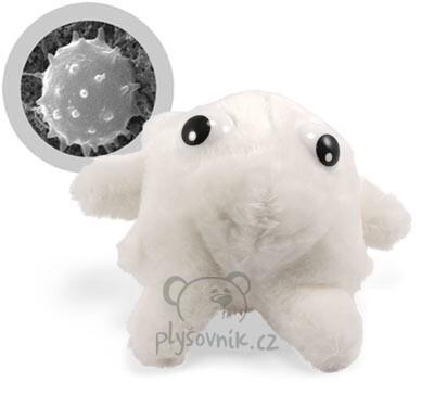 Plyšová hračka: Bílá krvinka plyšová | GiantMicrobes