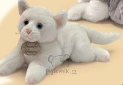 Plyšová hračka: Bílé koťátko Christine plyšová   Russ Berrie