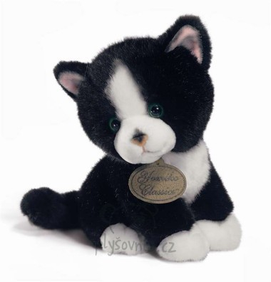 Plyšová hračka: Černobílé koťátko plyšové | Russ Berrie