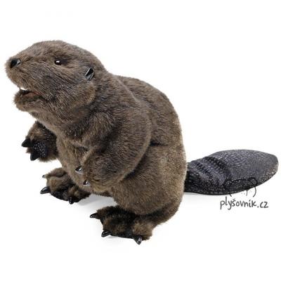 Plyšová hračka: Černý bobr plyšový | Folkmanis