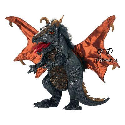 Plyšová hračka: Černý drak plyšový | Folkmanis