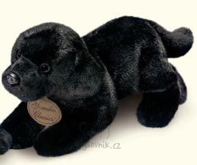 Plyšová hračka: Černý labrador plyšový   Russ Berrie