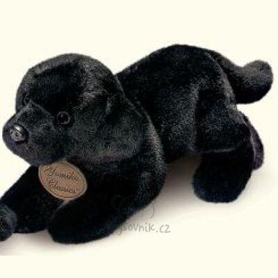 Plyšová hračka: Černý labrador štěně plyšový | Russ Berrie