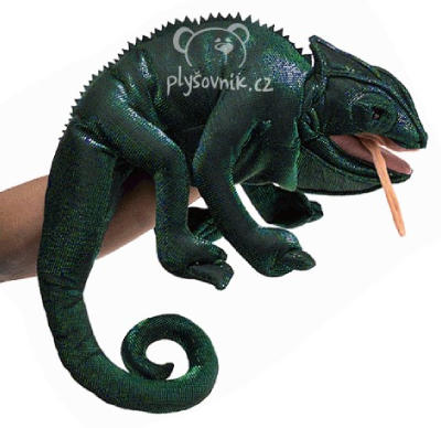 Plyšová hračka: Chameleon plyšový | Folkmanis