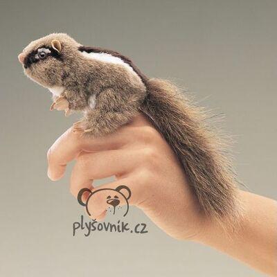 Plyšová hračka: Chipmunk na prst plyšový | Folkmanis