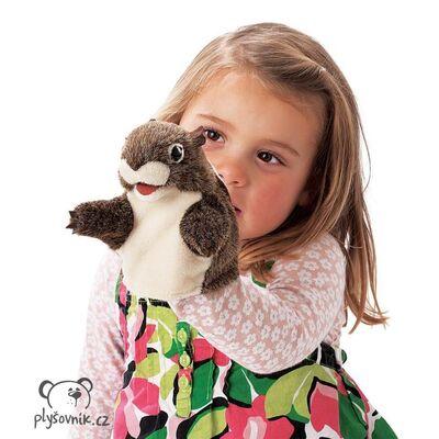 Plyšová hračka: Chipmunk na ruku plyšák | Folkmanis