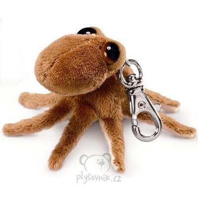 Plyšová hračka: Chobotnice Octopus klíčenka plyšová | Russ Berrie