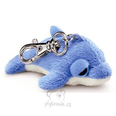 Plyšová hračka: Delfín Finny klíčenka plyšová | Russ Berrie