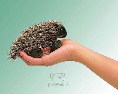 Plyšová hračka: Dikobraz na prst plyšový | Folkmanis