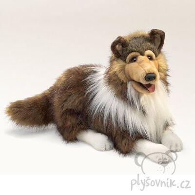Plyšová hračka: Dlouhosrstá kolie Lassie plyšák | Folkmanis