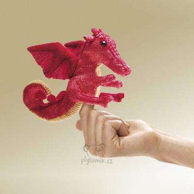 Plyšová hračka: Drak na prst plyšový | Folkmanis