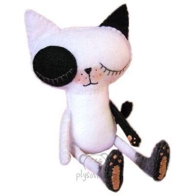 Plyšová hračka: Emo kočka plyšová | Bibelot Forest