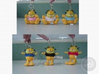 Plyšová hračka: Garfield červený přívěsek malý | Garfield