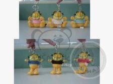 Plyšová hračka: Garfield růžový přívěsek malý | Garfield