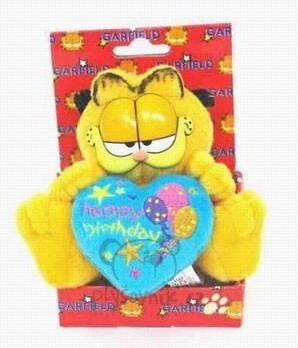 Plyšová hračka: Garfield s modrým srdcem plyšový | Garfield