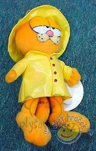 Plyšová hračka: Garfield ve žluté pláštěnce plyšový | Garfield