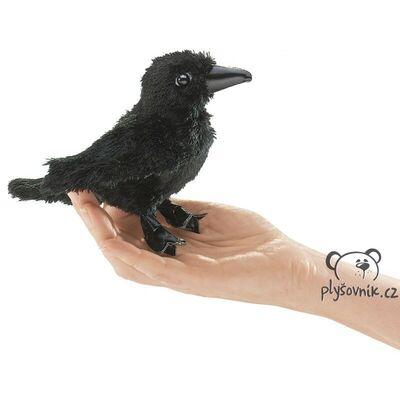 Plyšová hračka: Havran na prst plyšový | Folkmanis