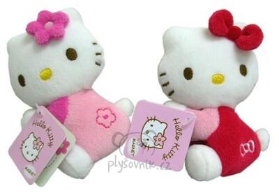 Plyšová hračka: Hello Kitty na ledničku plyšová | Sanrio