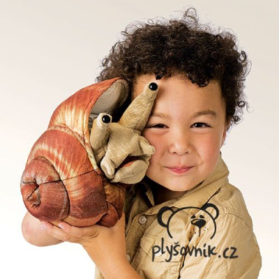 Plyšová hračka: Hlemýžď kropenatý plyšový | Folkmanis