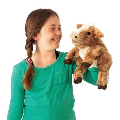 Plyšová hračka: Hnědá kráva plyšová | Folkmanis