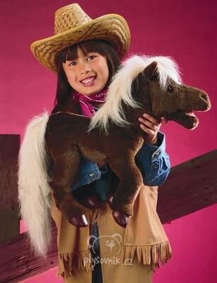 Plyšová hračka: Hnědý kůň velký plyšový | Folkmanis