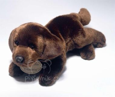 Plyšová hračka: Hnědý labrador plyšový   Russ Berrie