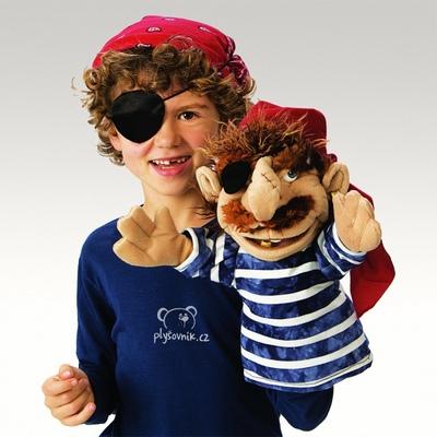 Plyšová hračka: Jednooký pirát Jack plyšový | Folkmanis